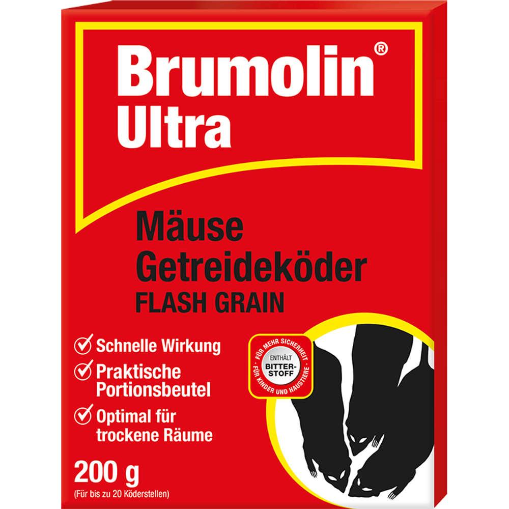 Brumolin Ultra Maeuse Getreidekoeder Flash Grain