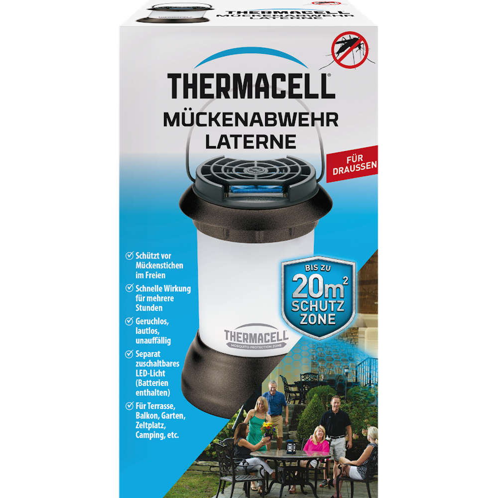 Thermacell Mueckenschutz Laterne