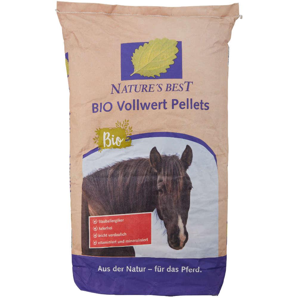 NATURES BEST BIO Vollwert Pellets - Kraftfutter Pferd
