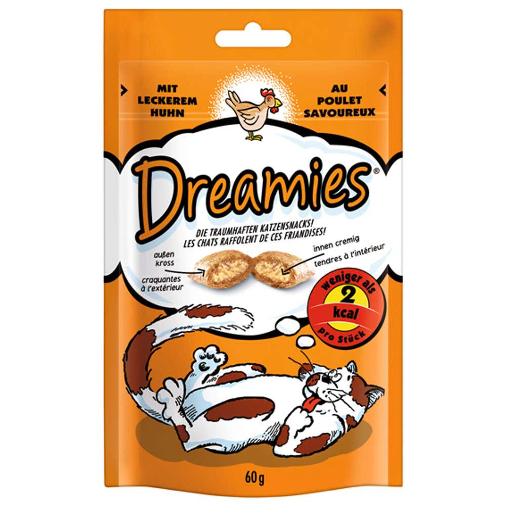 Grafik für DREAMIES mit Huhn in raiffeisenmarkt.de