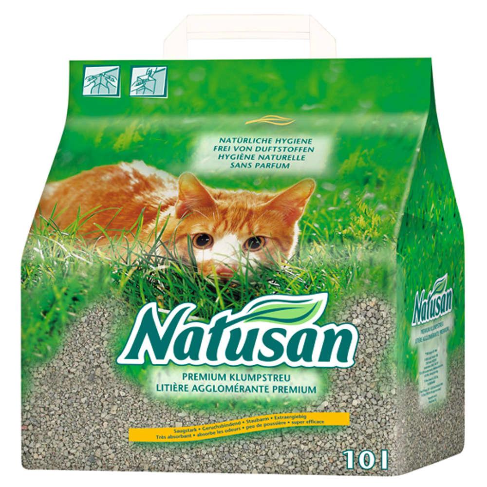 NATUSAN Premium Klumpstreu - Katzenstreu