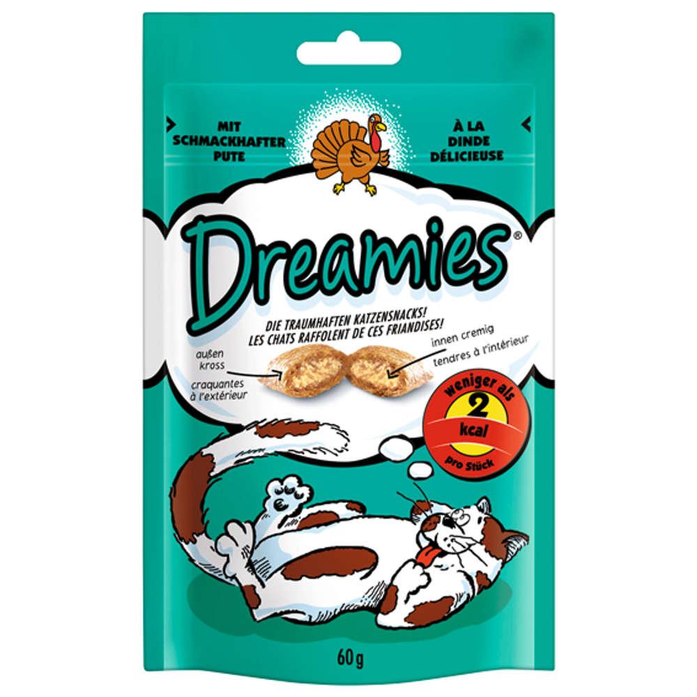 DREAMIES mit Pute - Katzenleckerlies
