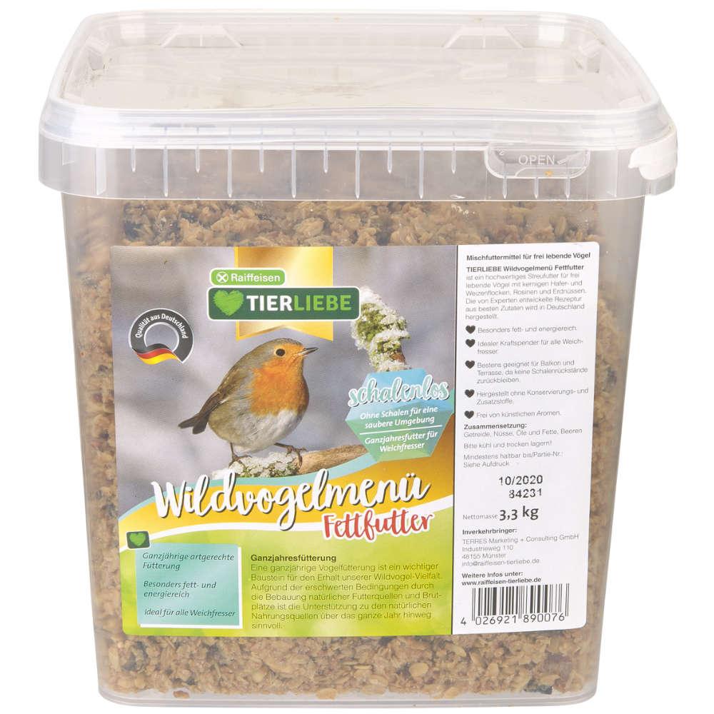 Raiffeisen TIERLIEBE Wildvogelmenü Fettfutter