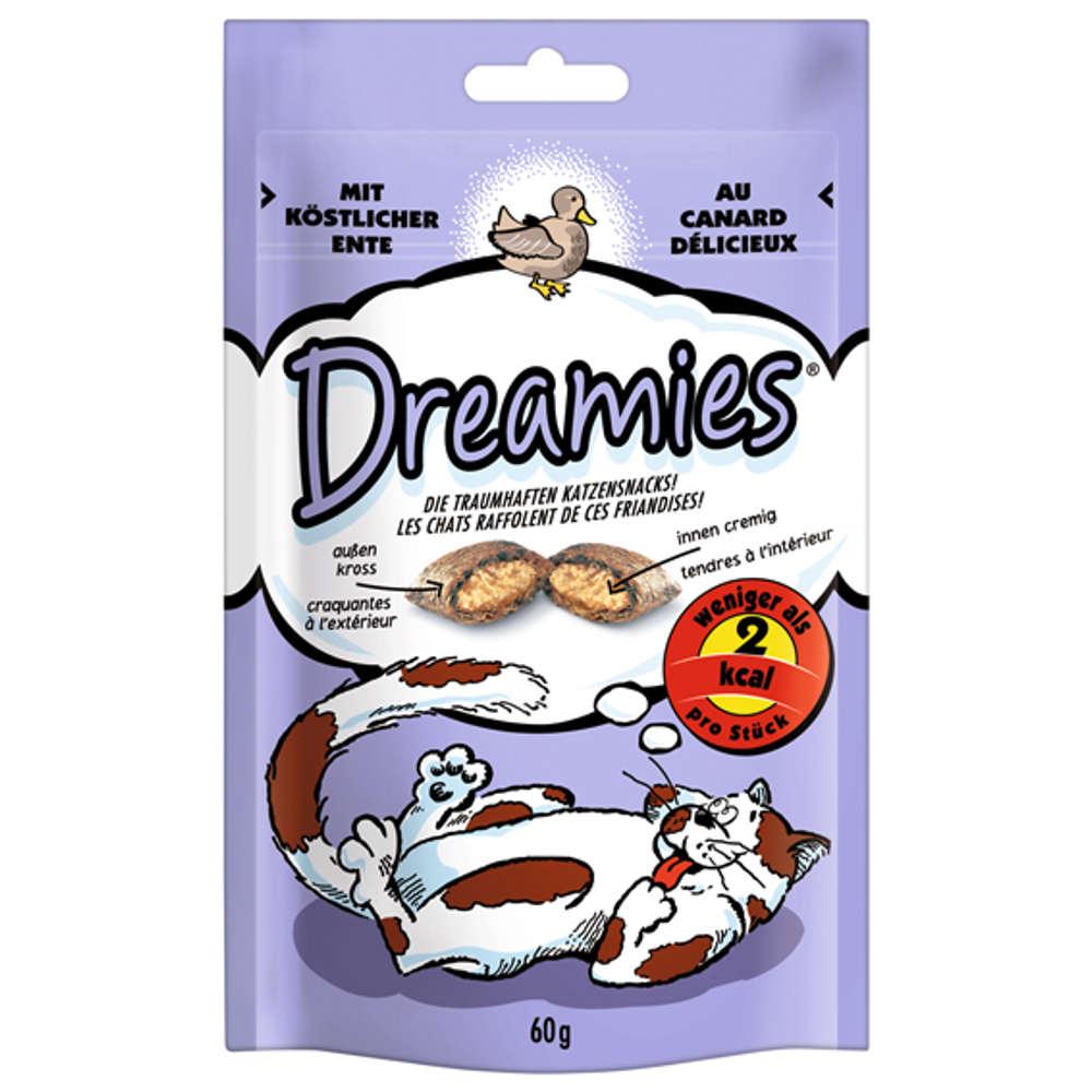 DREAMIES mit Ente - Katzenleckerlies