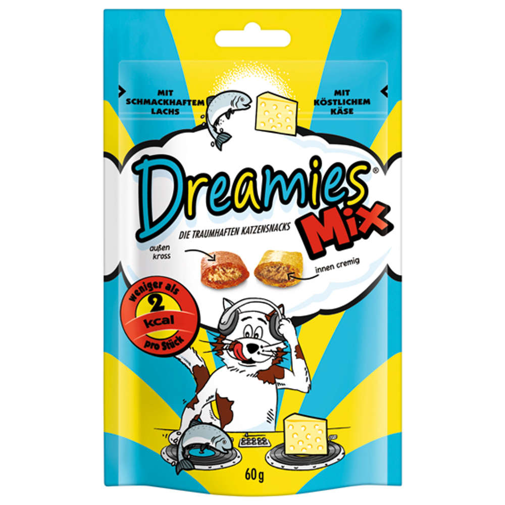 Grafik für DREAMIES Mix Lachs & Käse in raiffeisenmarkt.de