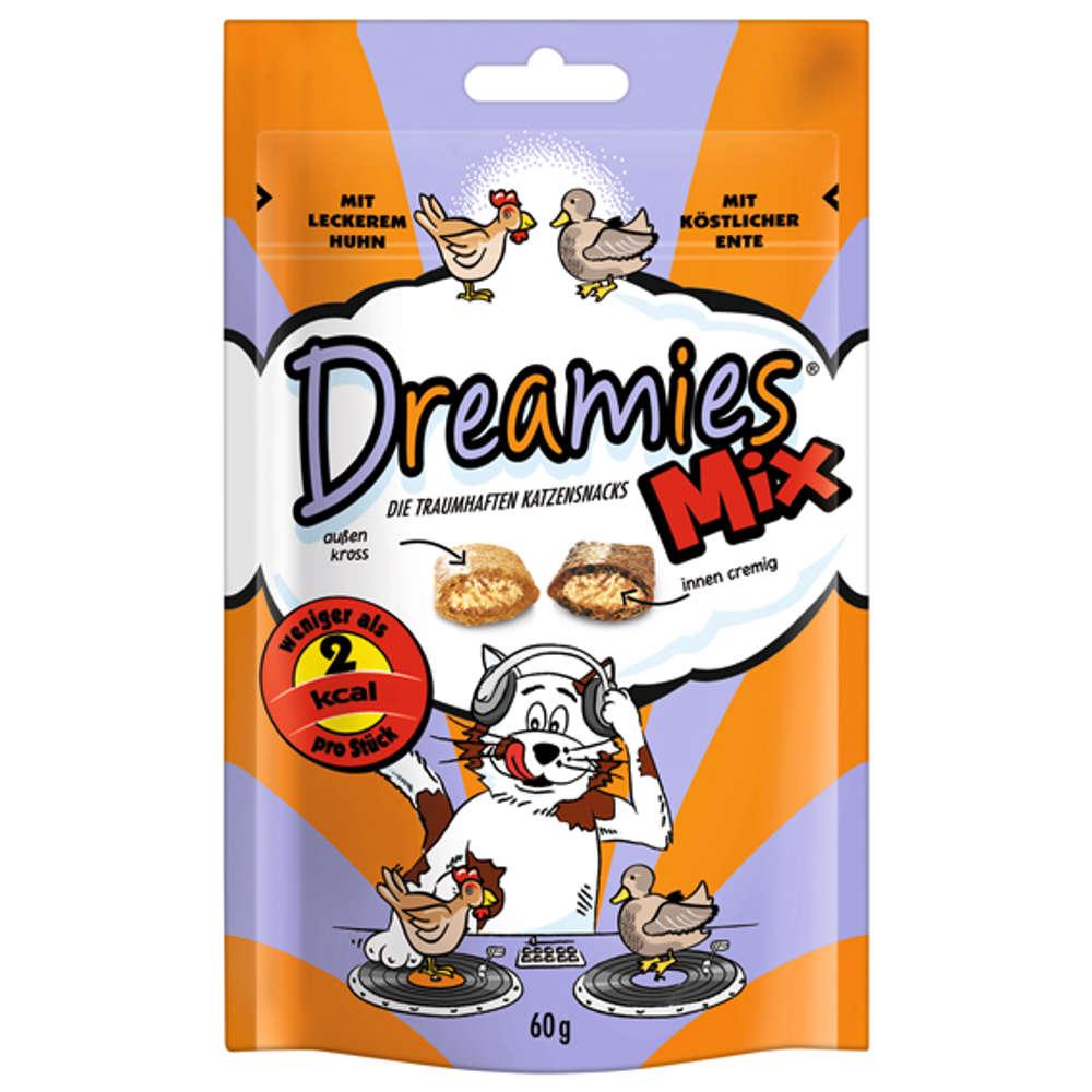 DREAMIES Mix Huhn & Ente - Katzenleckerlies