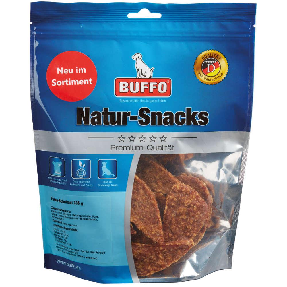 Buffo Natur-Snacks Puten-Schnitzel