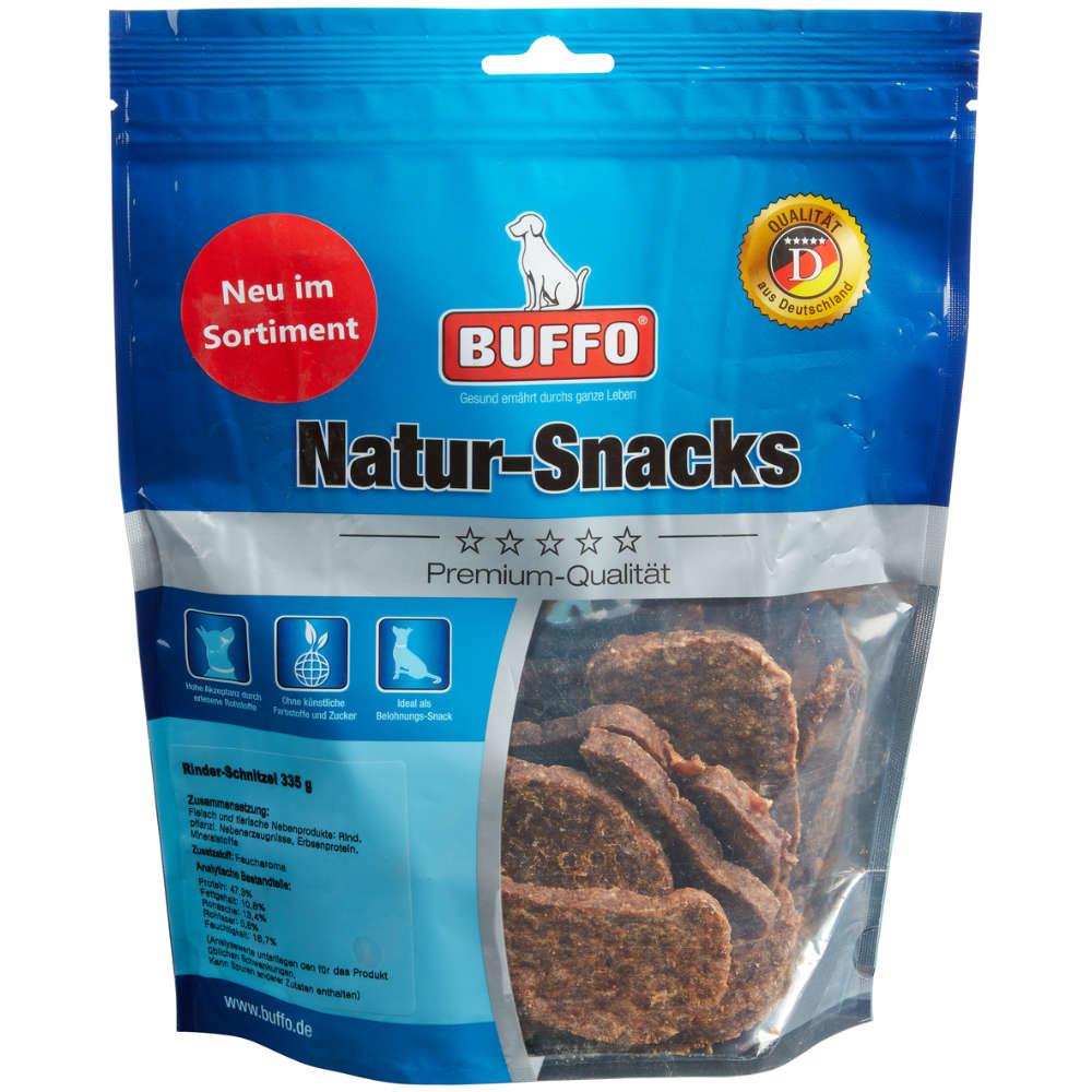 Buffo Natur-Snacks Rinder-Schnitzel