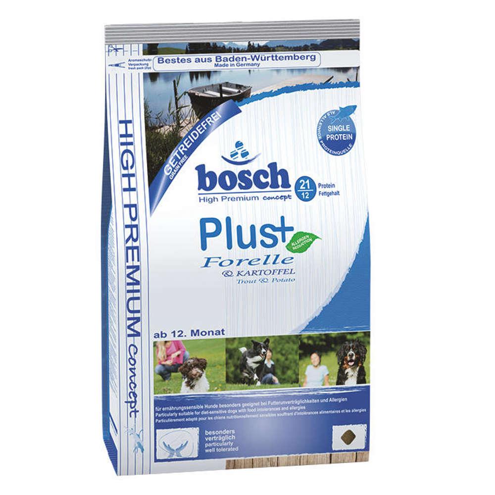 bosch Hunde-Trockenfutter HPC Plus Forelle+Kartoffel - Hunde-Trockenfutter