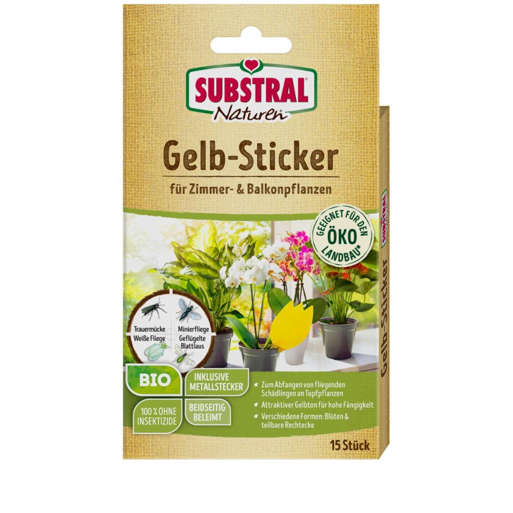Gelb-Sticker