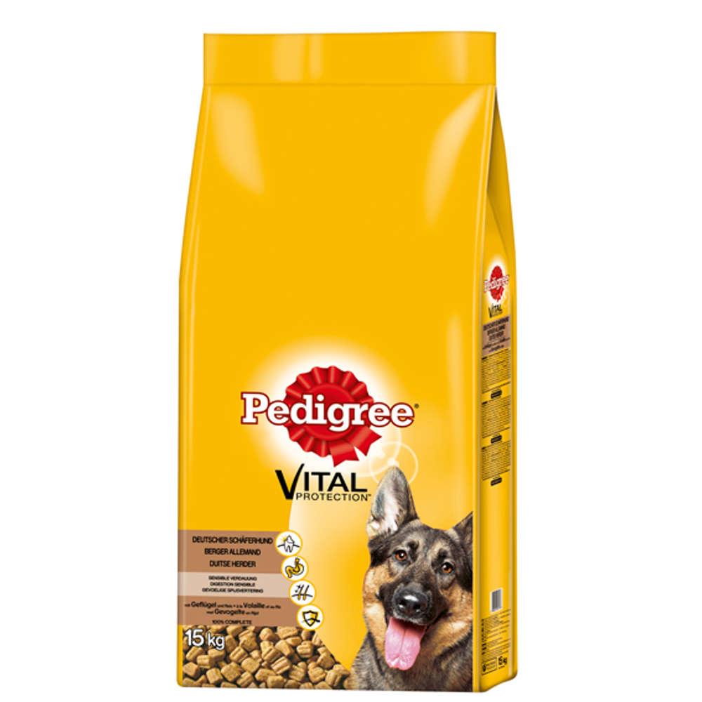 Grafik für PEDIGREE Deutscher Schäferhund mit Geflügel und Reis 15 kg in raiffeisenmarkt.de
