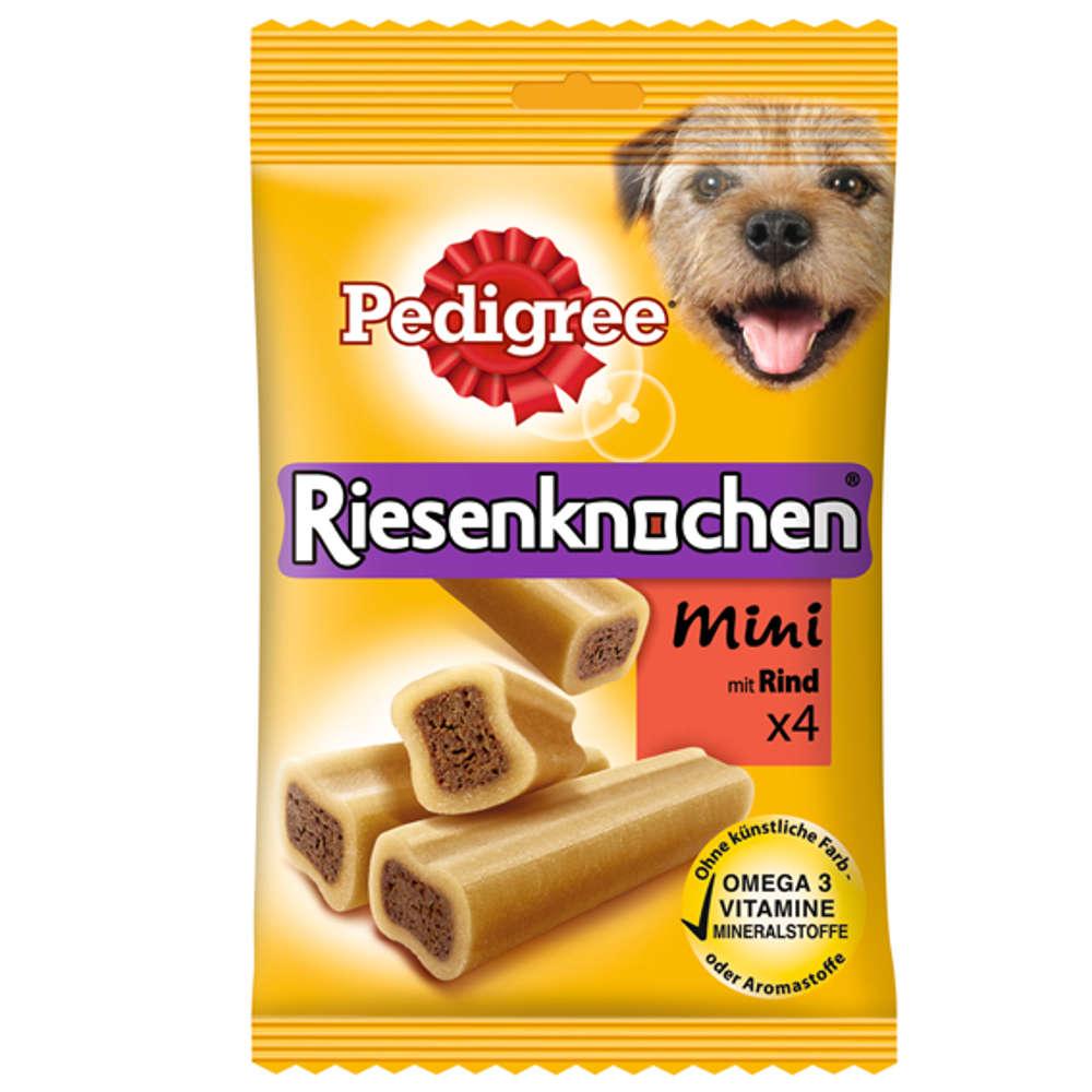 Grafik für PEDIGREE Riesenknochen Mini mit Rind in raiffeisenmarkt.de