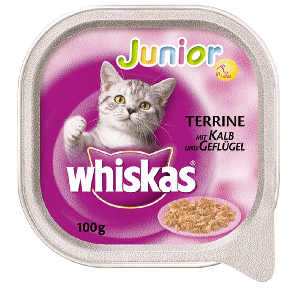 Grafik für WHISKAS Junior mit Kalb und Geflügel 100 g in raiffeisenmarkt.de