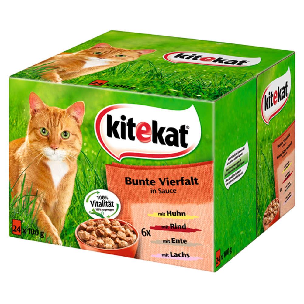 Grafik für KITEKAT Multipack Bunte Vierfalt in Sauce in raiffeisenmarkt.de