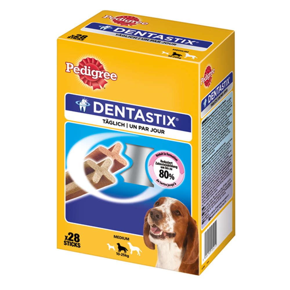 Grafik für PEDIGREE Dentastix für mittelgroße Hunde in raiffeisenmarkt.de