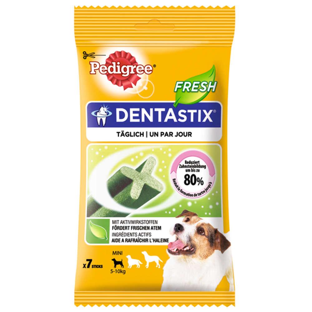Grafik für PEDIGREE Dentastix Fresh für junge & kleine Hunde in raiffeisenmarkt.de