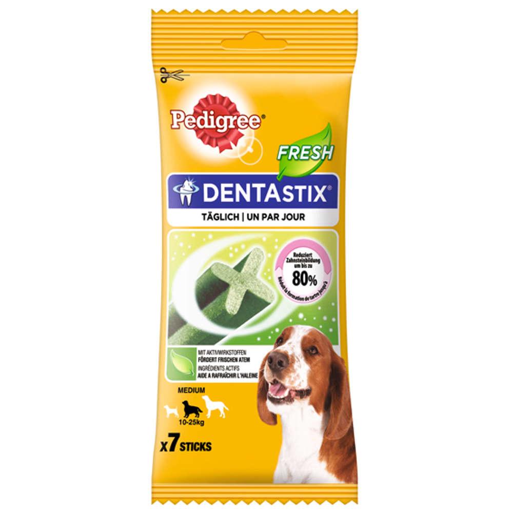 Grafik für PEDIGREE Dentastix Fresh für mittelgroße Hunde in raiffeisenmarkt.de