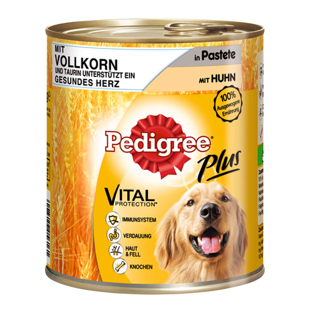 Grafik für PEDIGREE Plus Vollkorn-Huhn 800 g in raiffeisenmarkt.de