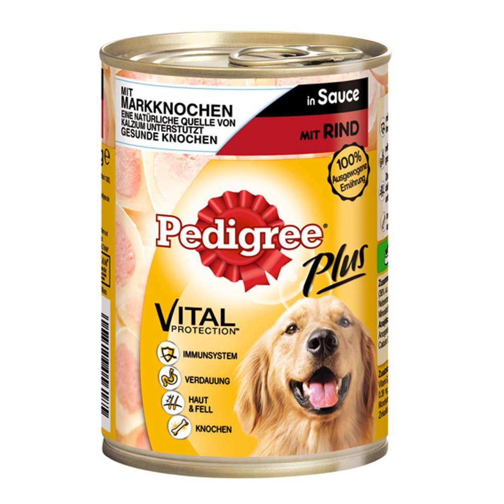 PEDIGREE Plus Markknochen-Rind - Hunde-Nassfutter