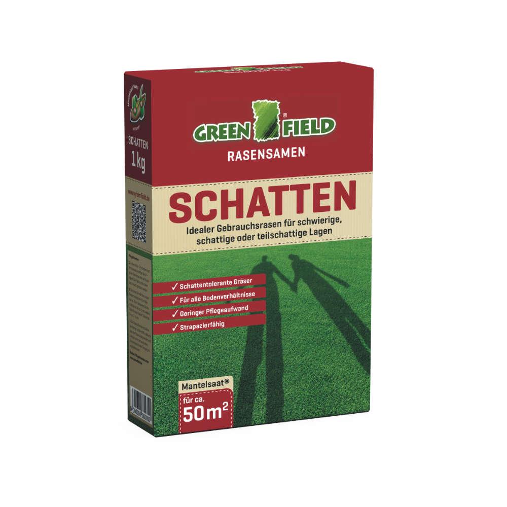 GREENFIELD Schattenrasen - Rasensaat