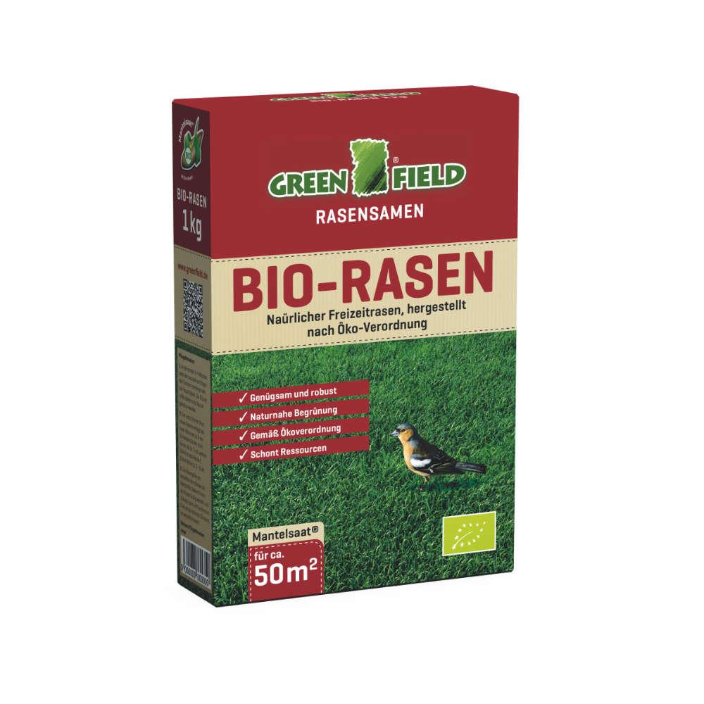 GREENFIELD Bio Rasen - Rasensaat