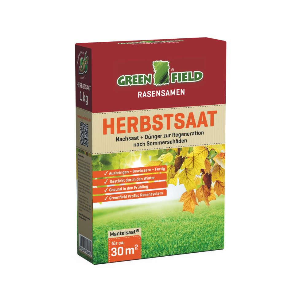 GREENFIELD Herbstrasen - Rasensaat