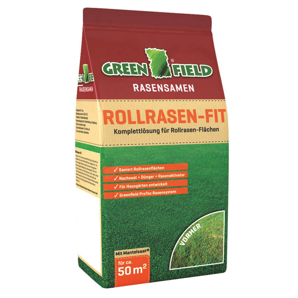 GREENFIELD Rollrasen-Fit - Rasensaat