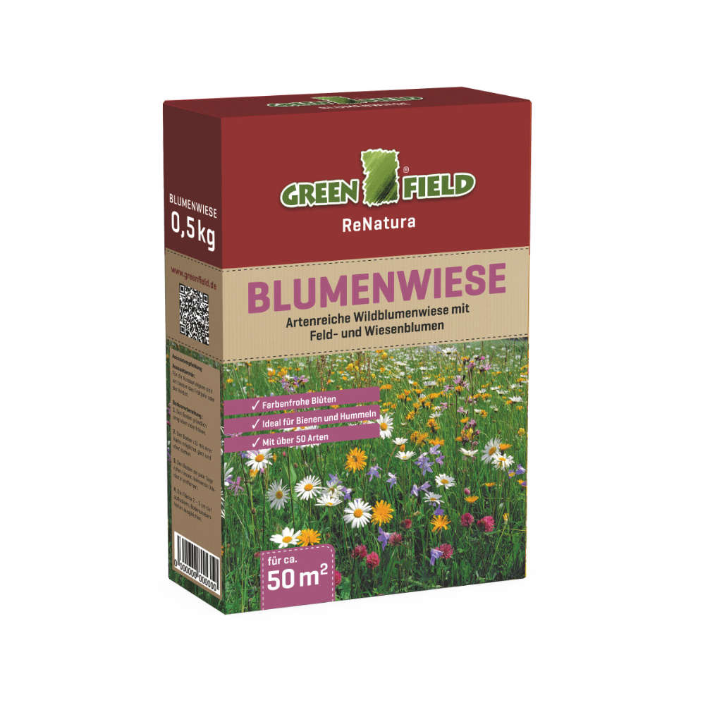 GREENFIELD Blumenwiese - Rasensaat
