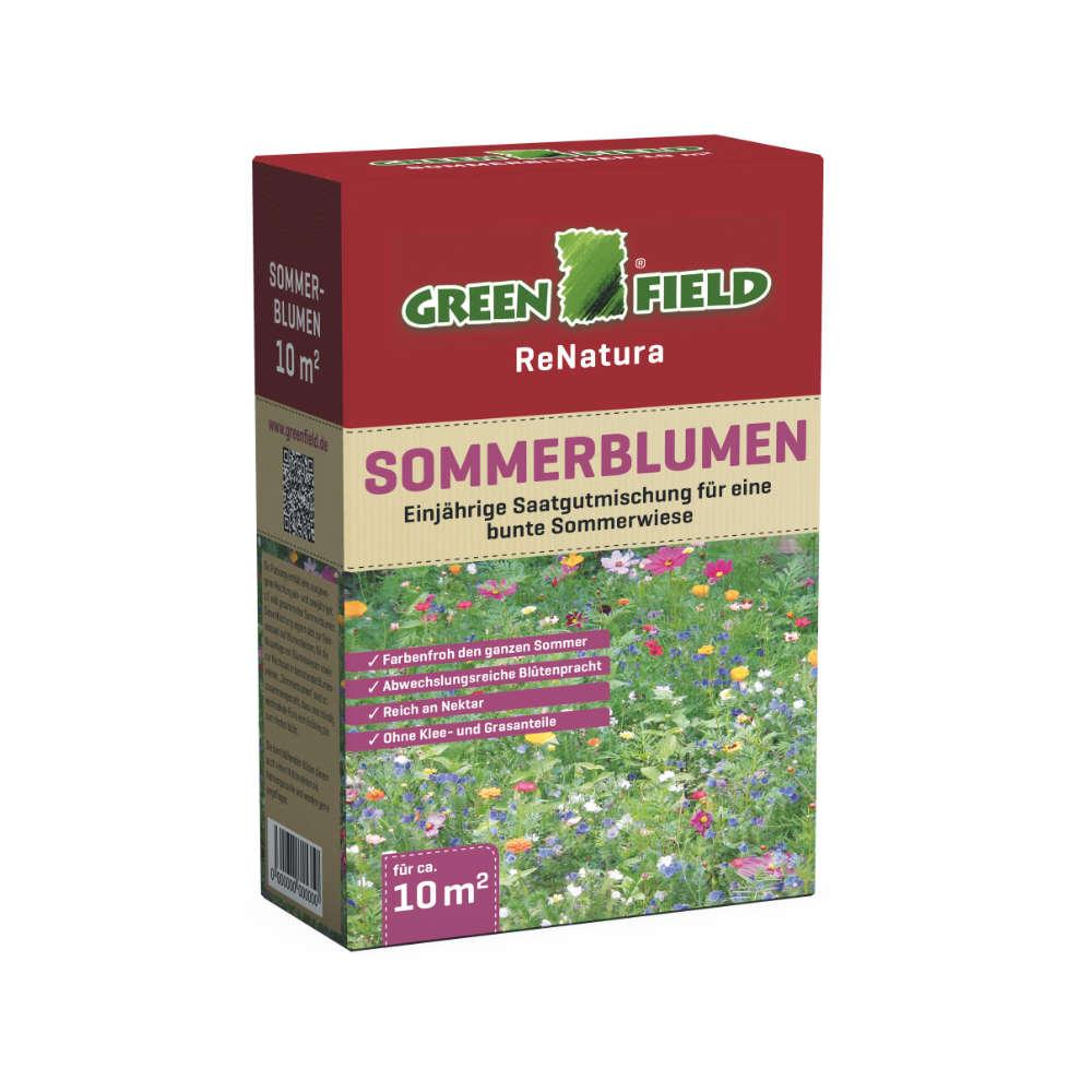 GREENFIELD Sommerblumen - Rasensaat