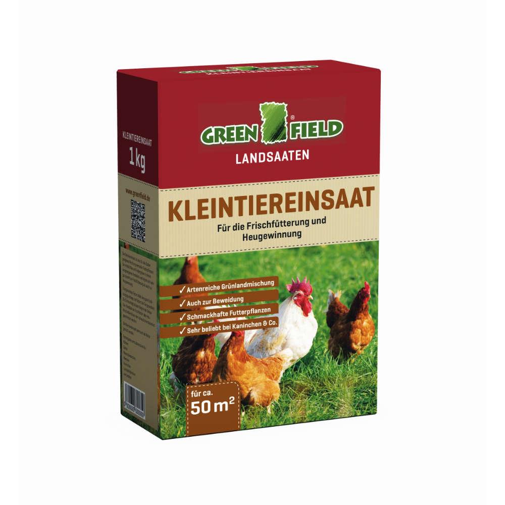 GREENFIELD Kleintierrasen - Rasensaat