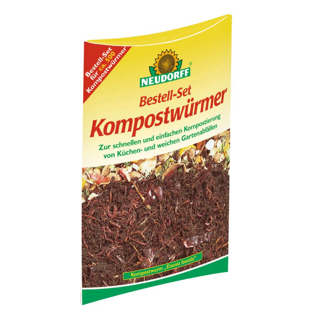 Neudorff Bestell-Set Kompostwuermer - Kompostierung