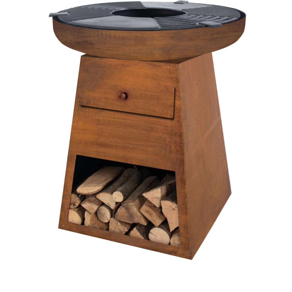 OutTrade Feurstelle BBQ Firepit Havanna rost