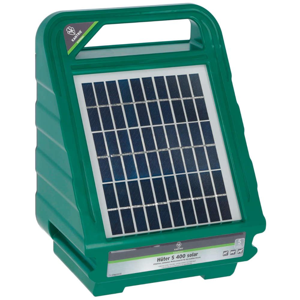 KANTRIE Weidezaungerät Hüter S 400 solar