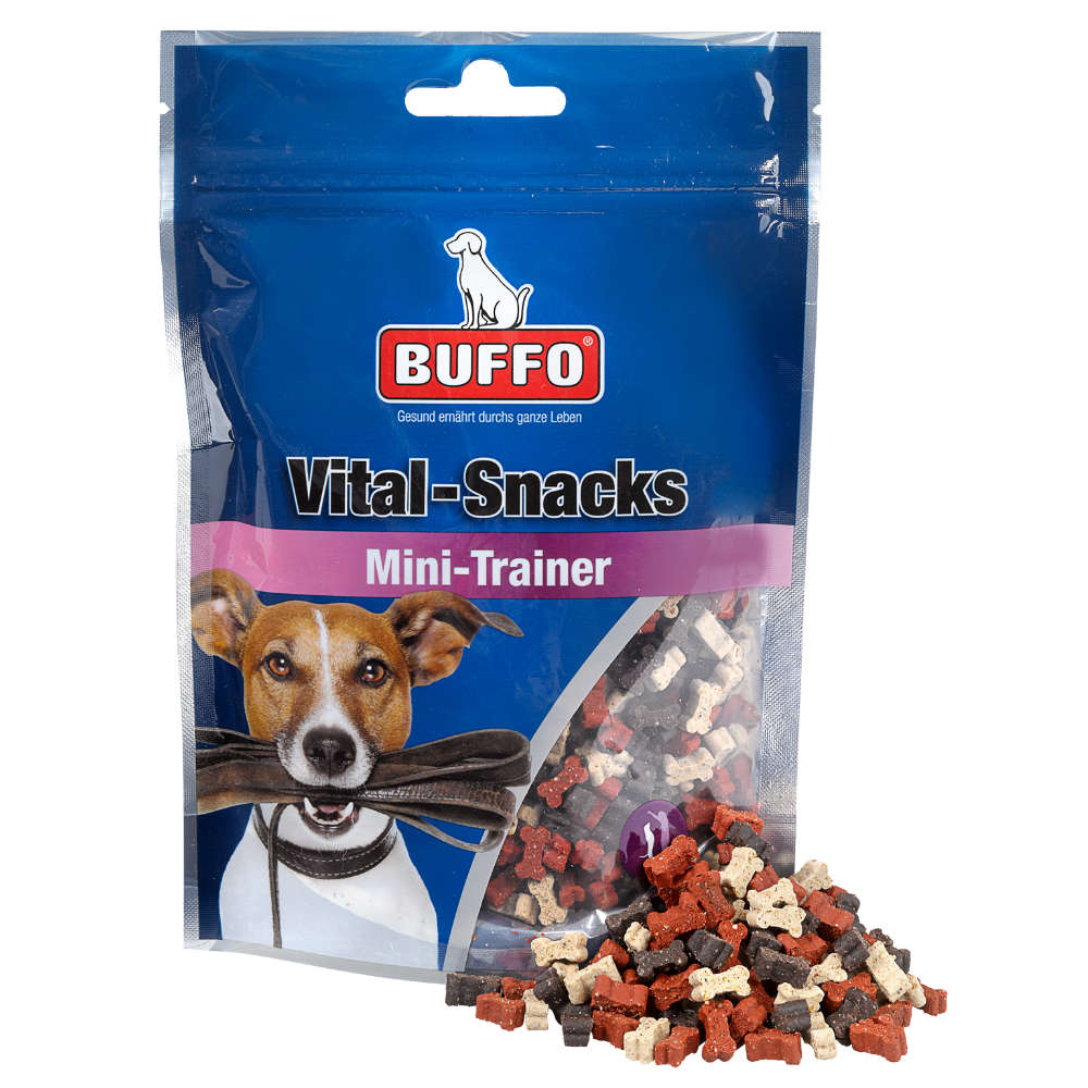 BUFFO Vital-Snacks Mini-Trainer - Hundeleckerlis
