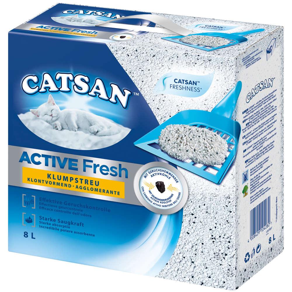 CATSAN ACTIVE FRESH KLUMPSTREU 8L