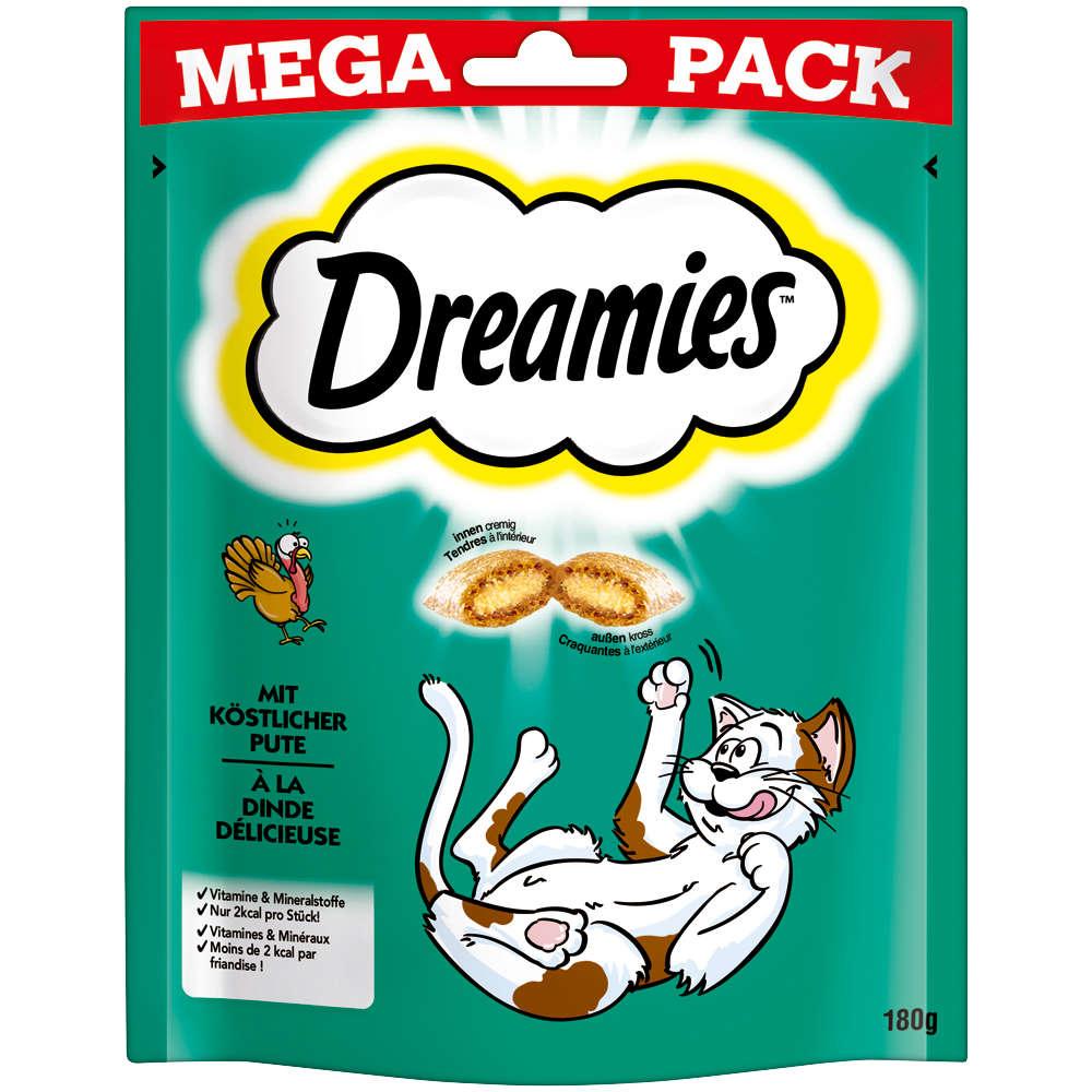Dreamies Mega Pack mit köstlicher Pute 180g