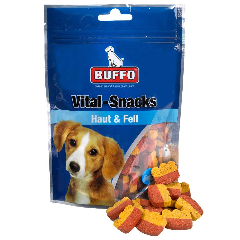 BUFFO Vital-Snacks Haut & Fell - Hundeleckerlis