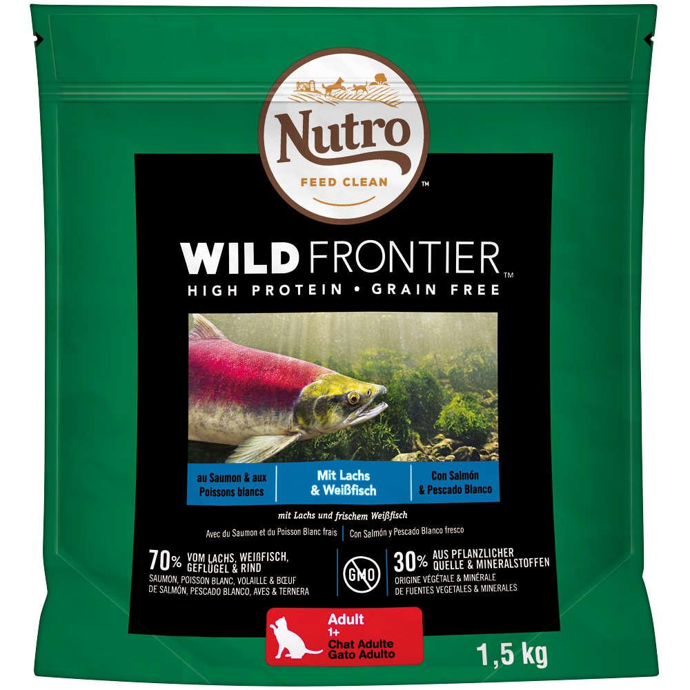NUTRO Katze Wild Frontier 4 x 1,5 KG Adult Lachs
