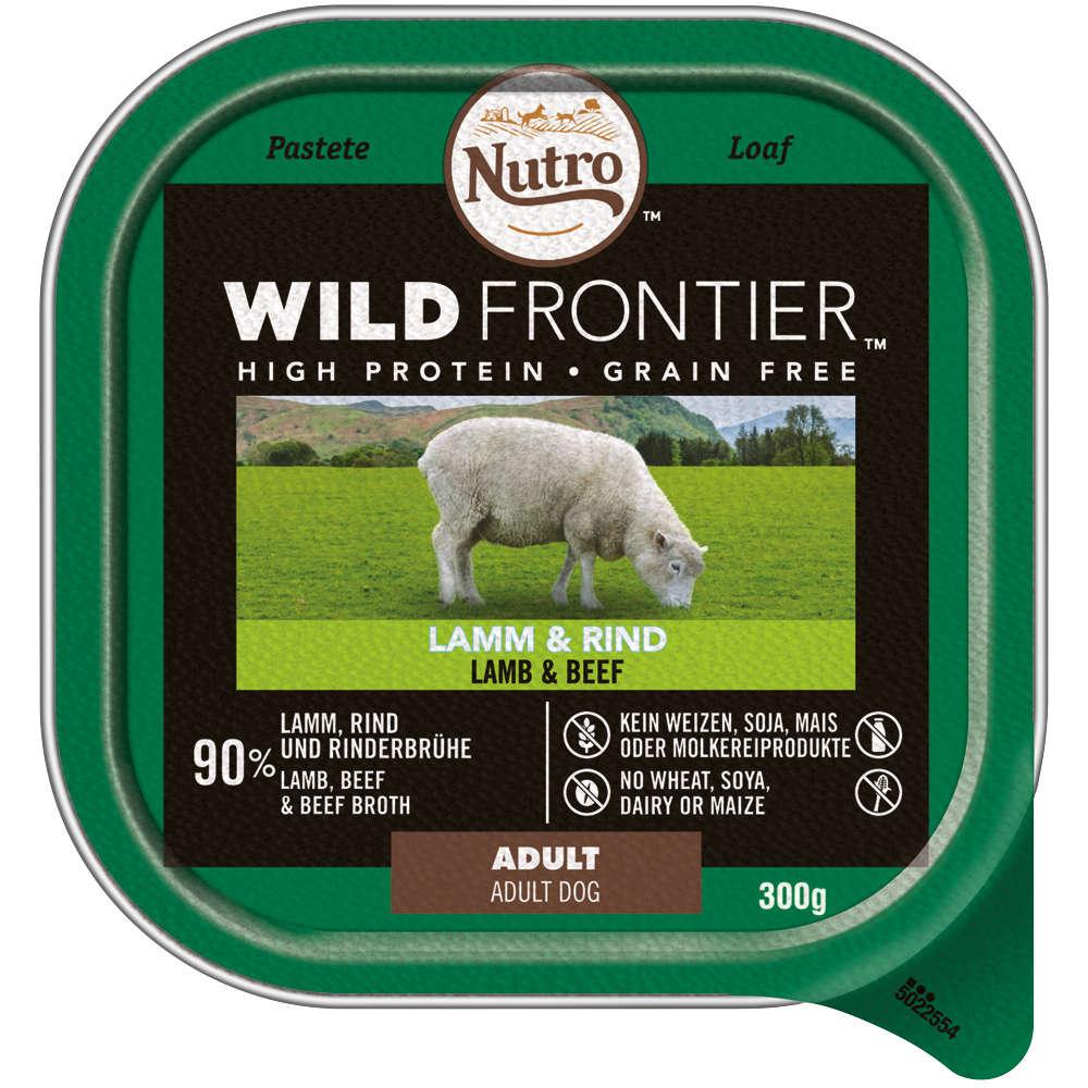 NUTRO Hunde-Nassfutter Wild Frontier Lamm & Rind