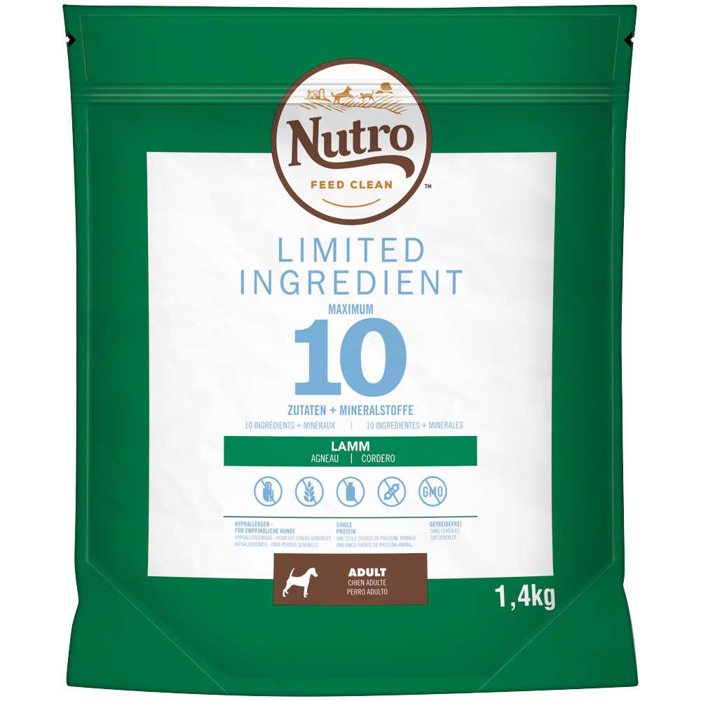 NUTRO Hund Limited Ingredient Diet Adult Lamm 4x1,4kg