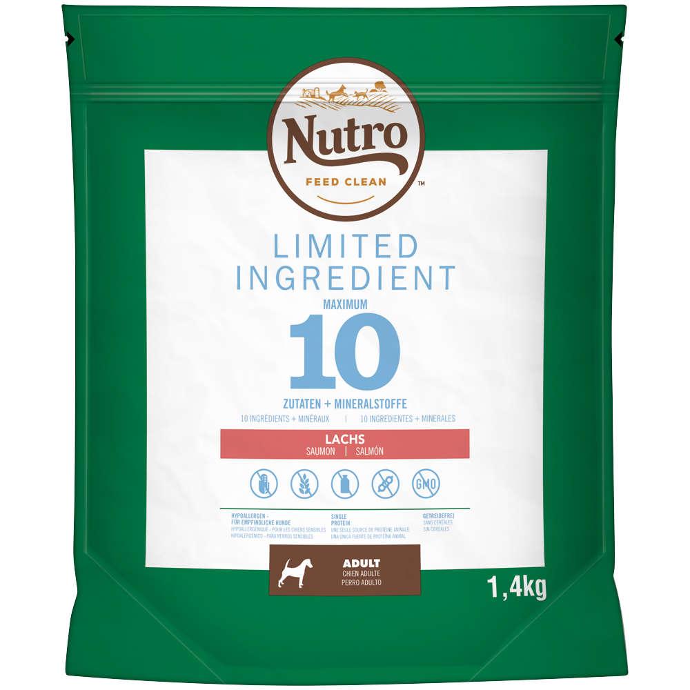 NUTRO Hundeleckerlis Limited Ingredient Diet 4 x 1,4kg Adult Lachs