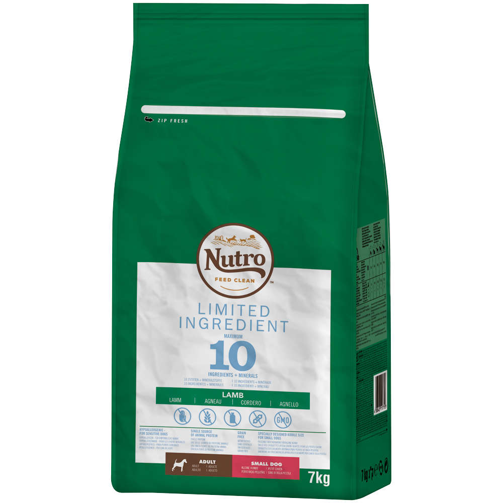 NUTRO Hund Limited Ingredient Diet 7 KG Adult Small Dog Lamm