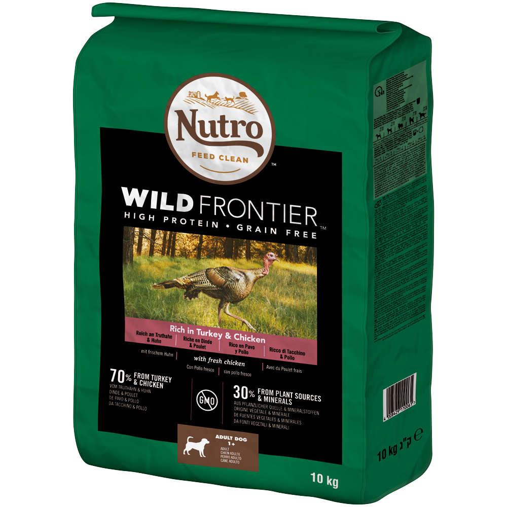 NURTO Hund Wild Frontier Adult Truthahn und Huhn 10kg