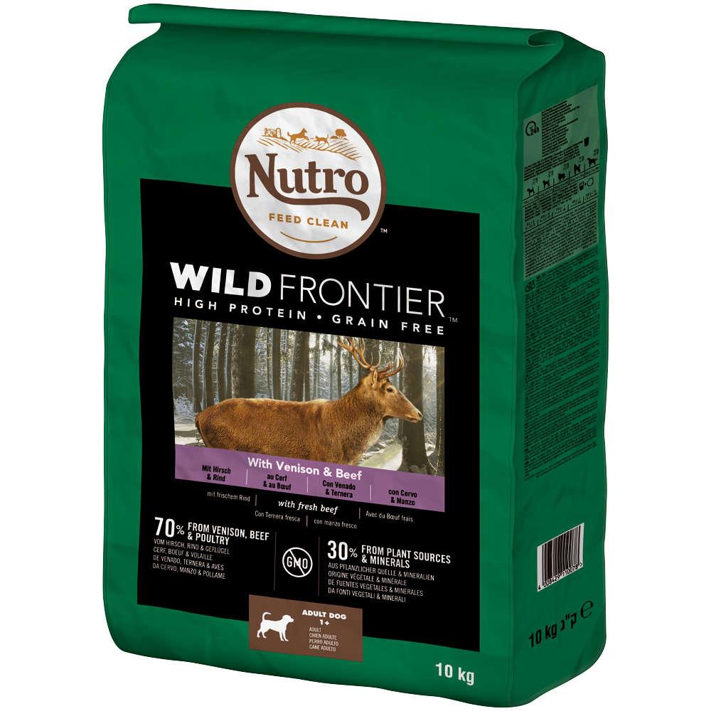 NUTRO Hund Wild Frontier Adult Wild und Rind 10kg