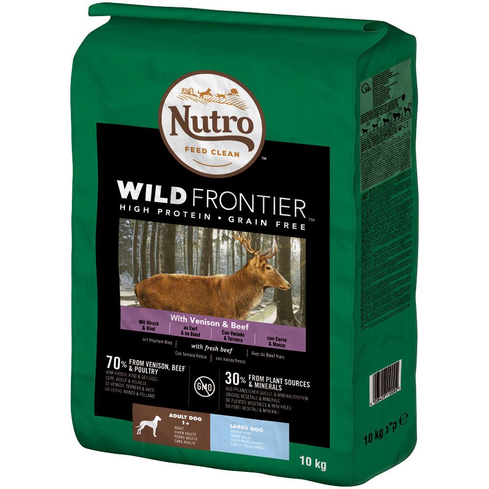 NUTRO Hund Wild Frontier Adult Große Hunde Wild und Rind 10kg