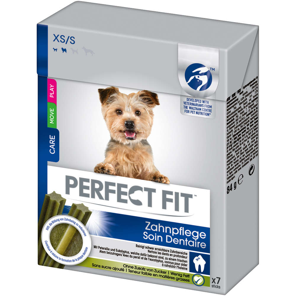 Perfect Fit Snacks Hund Zahnpflege XS/S 84g