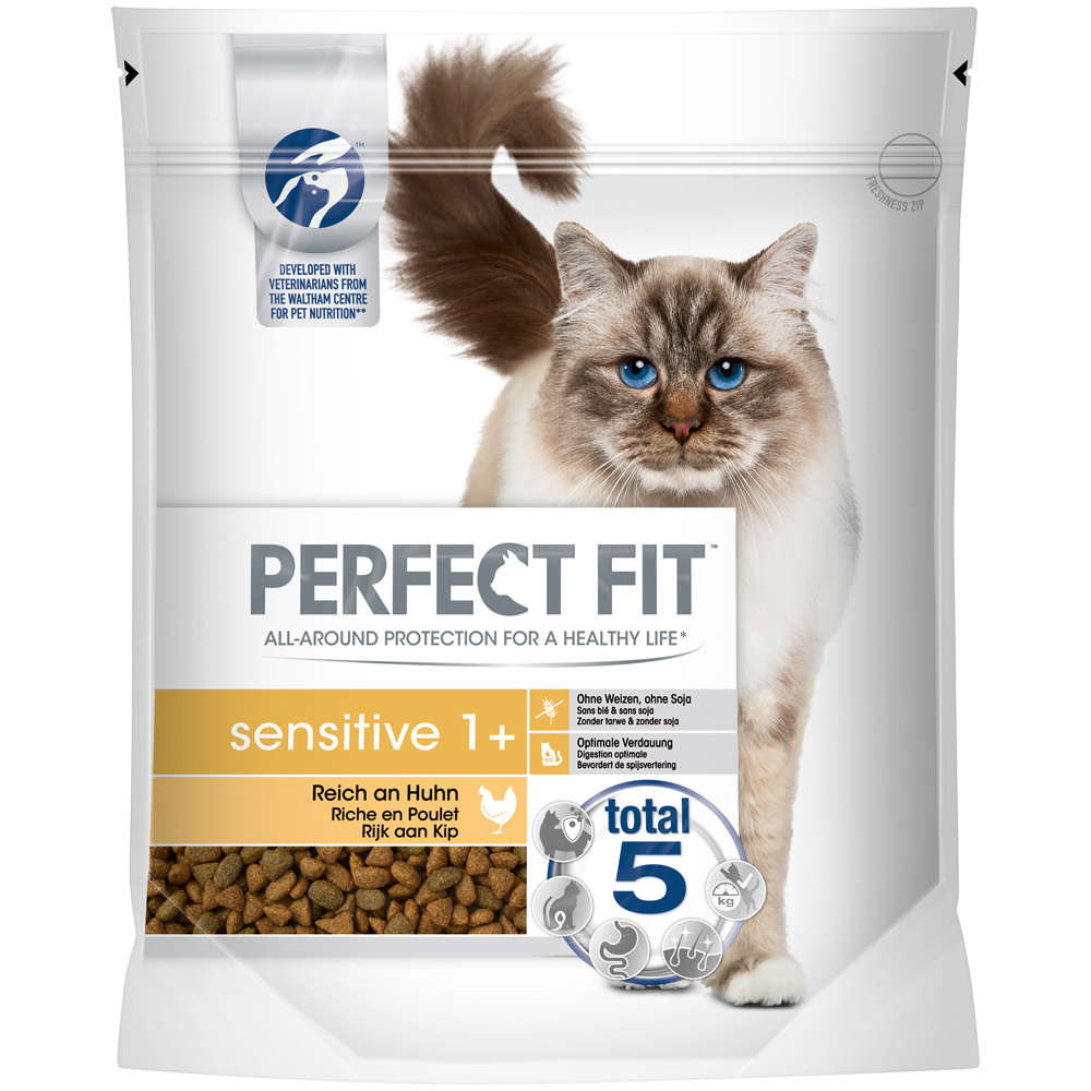 Perfect Fit Cat Dry Sensitiv 1+  reich an Huhn