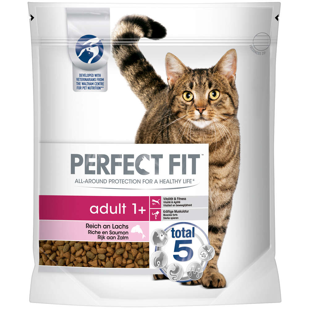 PERFECT FIT KATZE ADULT 1+ REICH AN LACHS 1,4