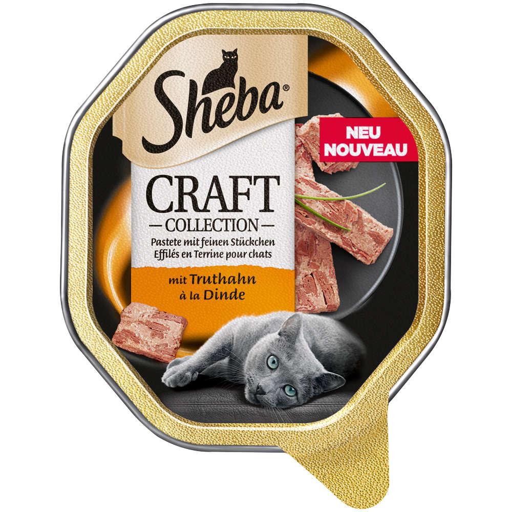 SHEBA Craft Collection Feine Pastete mit Truthahn