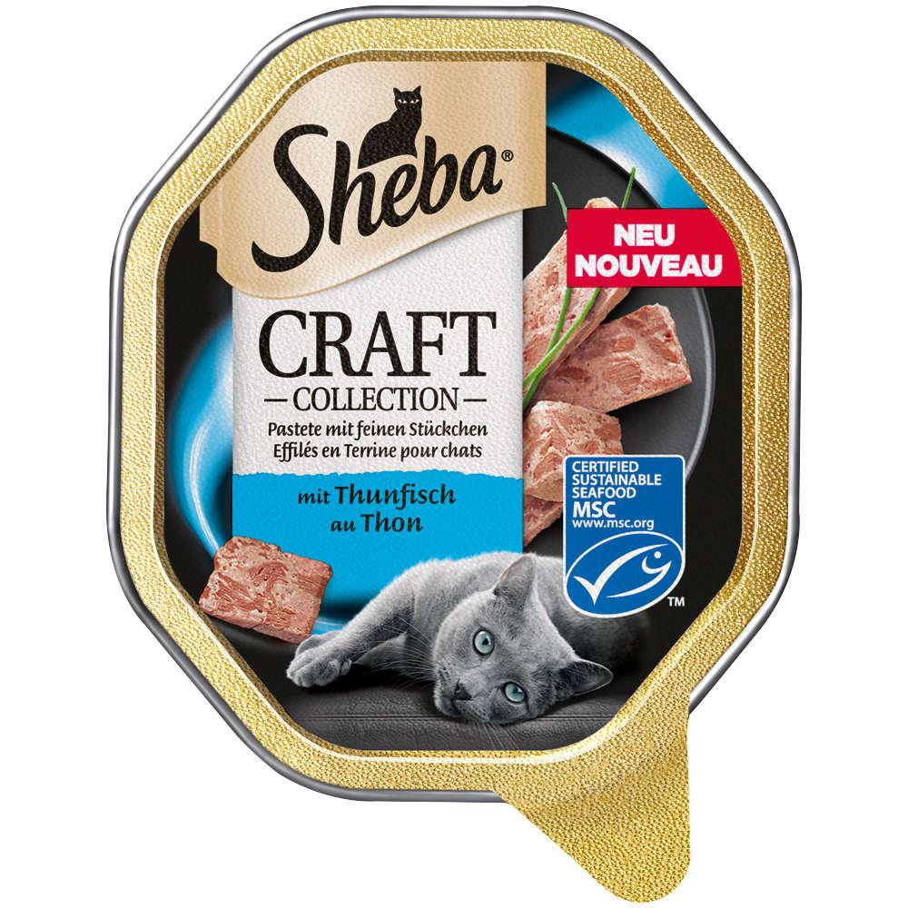 SHEBA Craft Collection Feine Pastete mit Thunfisch